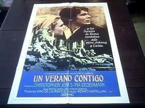 Original Latinamerican Movie Poster A Brief Season Una Breve Stagione Christopher Jones Pia Degermark Renato Castellani 1969