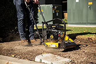 Stark 2.0HP Gas Vibration Compaction Force Construction Plate Compactor 2,000 Lbs Force for Paving Landscaping Sidewalk Patio Project EPA