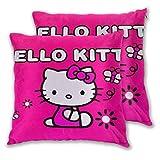 MISS-YAN Hello Kitty Rose - Funda de cojín decorativa para cama, silla, sofá,...
