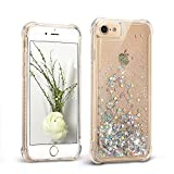 Mosoris Coque iPhone 6S Glitter Liquide 3D TPU Etui iPhone 6 Transparente Souple...