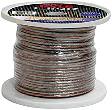 250ft 14 Gauge Speaker Wire - Copper Cable in Spool for Connecting Audio Stereo to Amplifier, Surround Sound System, TV Home Theater and Car Stereo - Pyle PSC14250