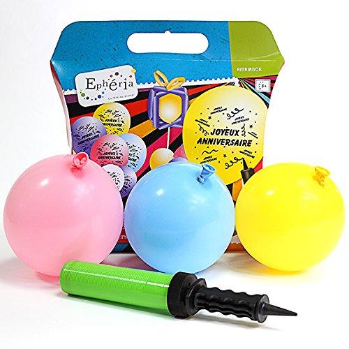 1PC Mini Plastique Gonfleur Ballon pompe à main tenue fête maison ballon outil DSUK
