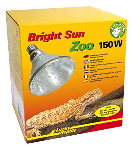 Lucky Reptile Bright Sun ZOO Desert 150 W, UV Beleuchtung für E27 Fassungen