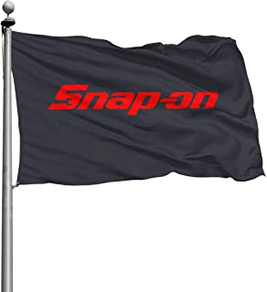 Snap-on Logo 4x6 Ft Home Flags, Decor Garden Flags Best for Party Yard Indoor and Outdoor