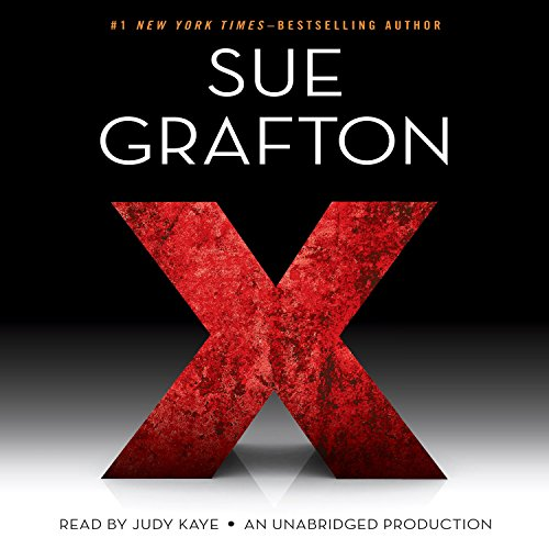 X audiobook cover art