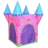 Charles Bentley - Kinderzelt Prinzessinnenschloss - für drinnen & draußen - Garten-Spielhaus -...