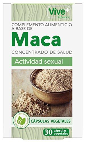 Vive+ Advance Maca, Suplemento Alimenticio - 3 Paquetes de 30 Cápsulas