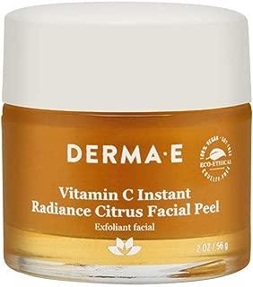 Derma E Vitamin C Instant Radiance Citrus Facial Peel 2.0 oz