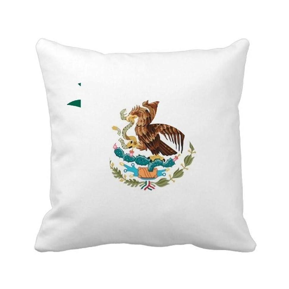 伝導原稿クルーメキシコ国旗の北アメリカ 国シンボルマークパターン パイナップル枕カバー正方形を投げる 50cm x 50cm