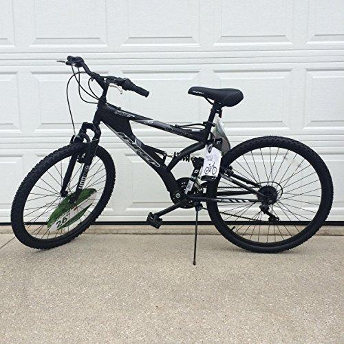 Generic 26' Hyper Havoc Full Suspension Men's Mountain Bike, Black