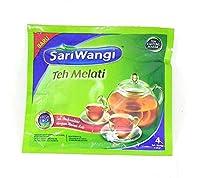 SARIWANGI tehメラティ - ジャスミン茶4-ct、9.2グラム(10のサッシェ)