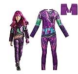 YFJL Disfraz de Halloween para niñas Disfraces Descendientes 3 Que rodean el Rendimiento para niños Ropa de Carnaval Regalos para niños,110 Yards