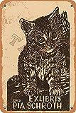 Exlibris Ors Pia Schroth - Cartel de decoración para el hogar, cocina, baño, granja, jardín, garaje, citas inspiradoras para decoración de pared