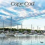 Cape Cod 2020 12 x 12 Inch Monthly Square Wall Calendar, Ocean Sea Coast Massachusetts
