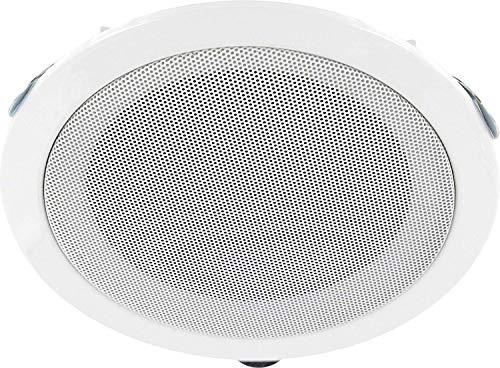 Altavoz empotrable de banda ancha (metal, 18 W RMS, 80 W de potencia musical, 179 mm de diámetro, montaje de 155 mm de diámetro)