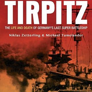 Tirpitz audiobook cover art