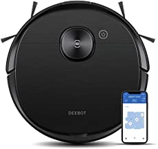 ECOVACS DEEBOT OZMO T8 AIVI Robotic Vacuum Cleaner, Upgraded AIVI™ Technology, TrueMapping™ Navigation System, Most Powerf...