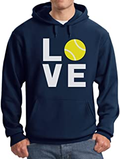TeeStars - Love Tennis - Gift Idea for Tennis Fans Cool Hoodie