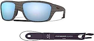 Oakley Split Shot OO9416 Rectangle Sunglasses for Men +BUNDLE with Oakley Accessory Leash Kit