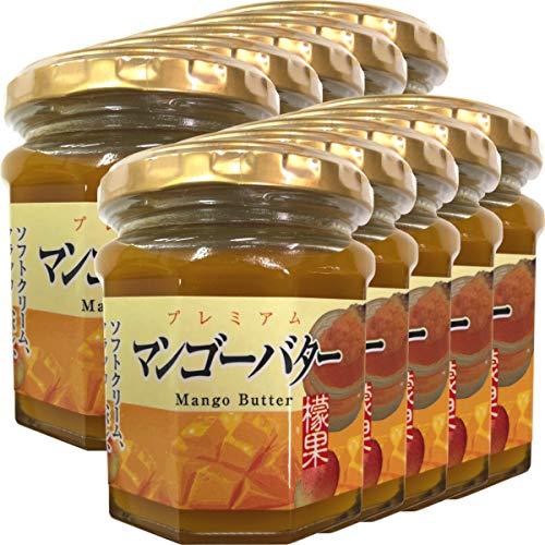プレミアム マンゴーバター 200g×10個セット 巣鴨のお茶屋さん 山年園