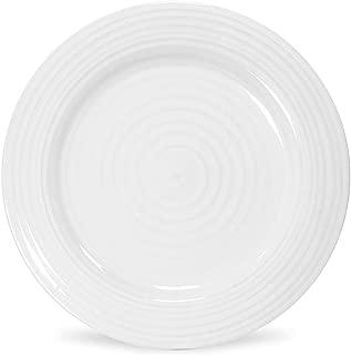 Portmeirion Sophie Conran White Salad Plate, Set of 4