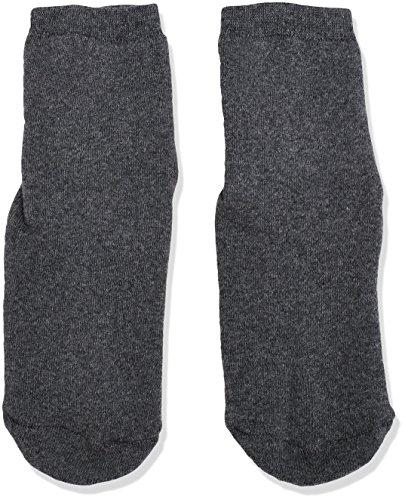 Sterntaler Fliesen Flitzer Soft, Mädchen Socken,Grau (Anthrazit Melange 592), Gr.21/22 (Herstellergröße:  18-24 Monate)