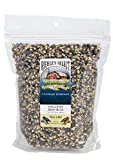 Riehle's Select Popping Corn - Hulless Baby Blue Whole Grain Popcorn - (28oz) Resealable Bag