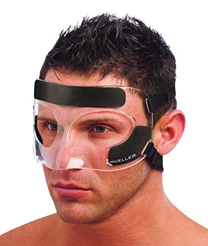 Mueller Face Guard | Protection from Impact injuries to Nose and Face,...