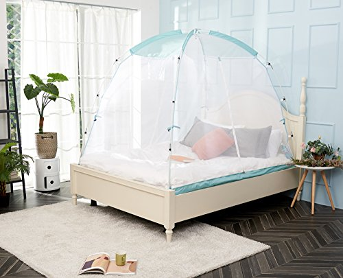 BESTEN Mosquito Net Tent with Sturdy Poles for Bed and Floor Easy Set Up and Portable (Full/Queen)