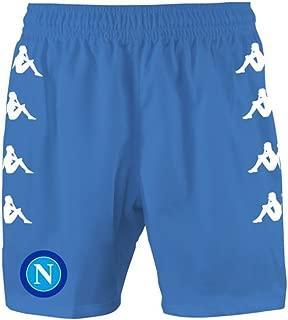 2016-2017 Napoli Home Shorts (Sky Blue)
