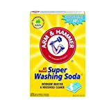 Arm & Hammer Natural Detergent Booster and freshener Super Washing Soda Detergent Booster &...