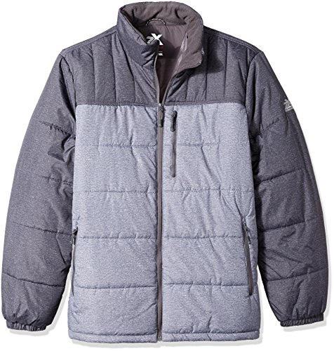 ZeroXposur Men's Big Flex Quilted Puffer Jacket, Iron Static, 3X-Large Tall
