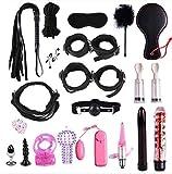 E-DIDI - Kit de yoga para deportes de yoga, juego de deportes, juego de herramientas de nailon y cuero, vestido de fiesta lleno de sorpresas (rojo) A311