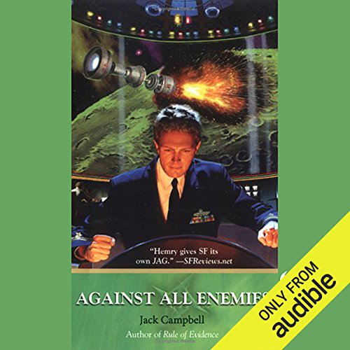 Against All Enemies: JAG in Space, Book 4 audiobook cover art