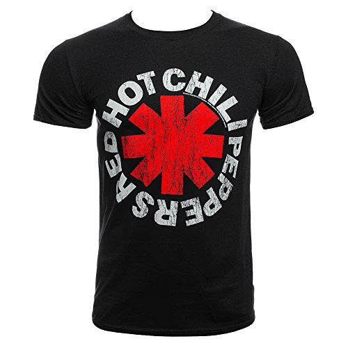 Red Hot Chili Peppers Damen T-Shirt Los Chili gelb