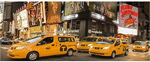 SATDL0717 - Sticker Autocollant Tête de Lit Times Square (160x64cm)