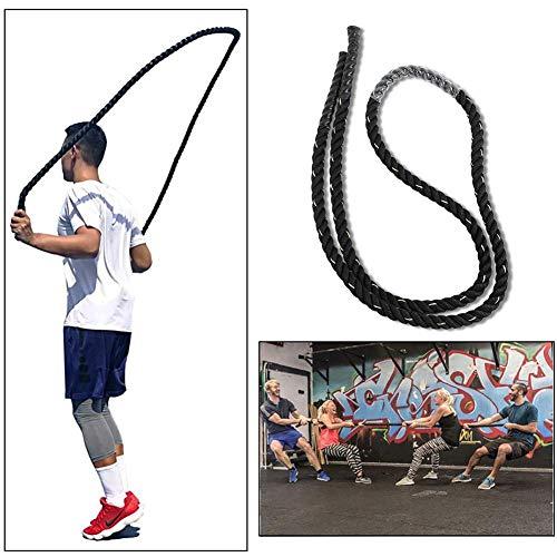 3m Heavy Throw Big Rope, physische Zugseile 25mm für Combat Fitness Muskeltraining Adult Fitness Heavy Jumping Springseil für Krafttraining Home Gym Outdoor Cardio Workout Gym Boxen