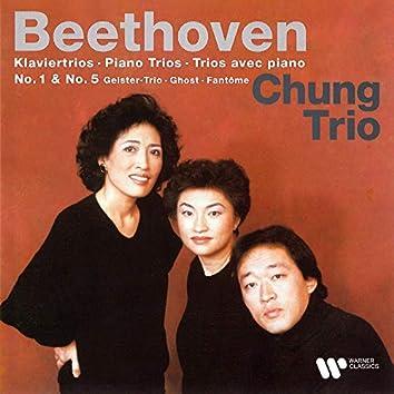"""Beethoven: Piano Trios Nos. 1 & 5 """"Ghost"""""""