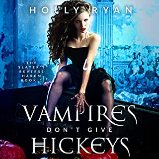 Vampires Don't Give Hickeys audiobook cover art