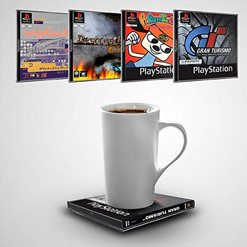 Official Sony PlayStation games coasters - Volume 1 (4 pack) [import anglais]