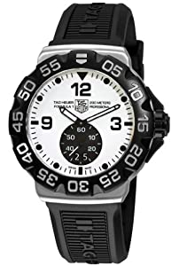 TAG Heuer Men's WAH1011.BT0717 Formula 1 Grande Date White Dial Watch image