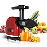 MOLTRES Slow Masticating Juicer High Yield, Cold Press Juicer Machine with Quiet Motor, Juicer...