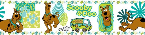 Brewster PS93992 Warner Brothers Scooby Doo Peel & Stick Wall Border