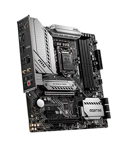 MSI MAG B460 Mortar WiFi Intel LGA1200 DDR4 M.2 USB 3.2 Gen 1 HDMI 2.5GB LAN WLAN 6 M-ATX Gaming Motherboard
