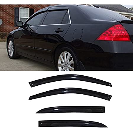 JDM Out-Channel Visors 3pcs Deflector /& Sunroof For Honda Accord 2DR Coupe 98-02