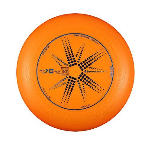 フライングディスク アルティメット・スポーツディスク 175g WFDF PDGA公認 (オレンジ)