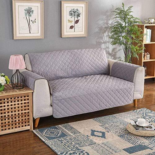 Jonist Funda de sofá Repelente al Agua, Lujoso y Elegante cojín de Asiento Protector de Muebles Funda de sofá simple-53X190cm-E