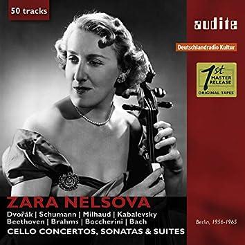 Portrait Zara Nelsova (Cello Concertos, Sonatas & Suites)