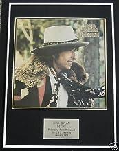 Bob Dylan–LP encadrée Motif Desire