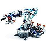 FXQIN Kit De Borde De Brazo Hidráulico para Adultos, Brazo Robótico Hidráulico Stem Juguetes para niños de 8 años, Kit de construcción de Bricolaje, Accionado por Agua Kit De Robot Educativo